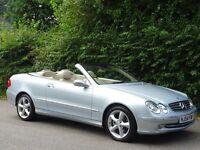 Mercedes-Benz CLK 1.8 CLK200 Kompressor Elegance 2dr Convertible - AUTOMATIC - 73,000 MILES NEW MOT