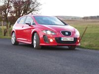 SEAT Leon FR+ Supercopa - 2012 - Red - FSH - 170bhp - 2.0 Diesel - Manual