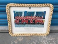 Vintage retro 1975 76 70s Welsh Wales rugby team novelty Photo image tray SDHC