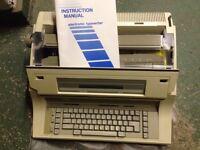 Nakajima AE 830 Electric Typewriter 3 new ribbons & correcting ribbons