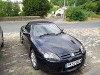 MG TF 135. 2002. Great condition for year.