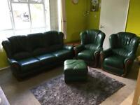 Sofa set complete set Leather