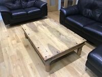 Coffee Table, Solid Wood, Rustic Design £40