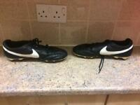 Football boots size 9.5