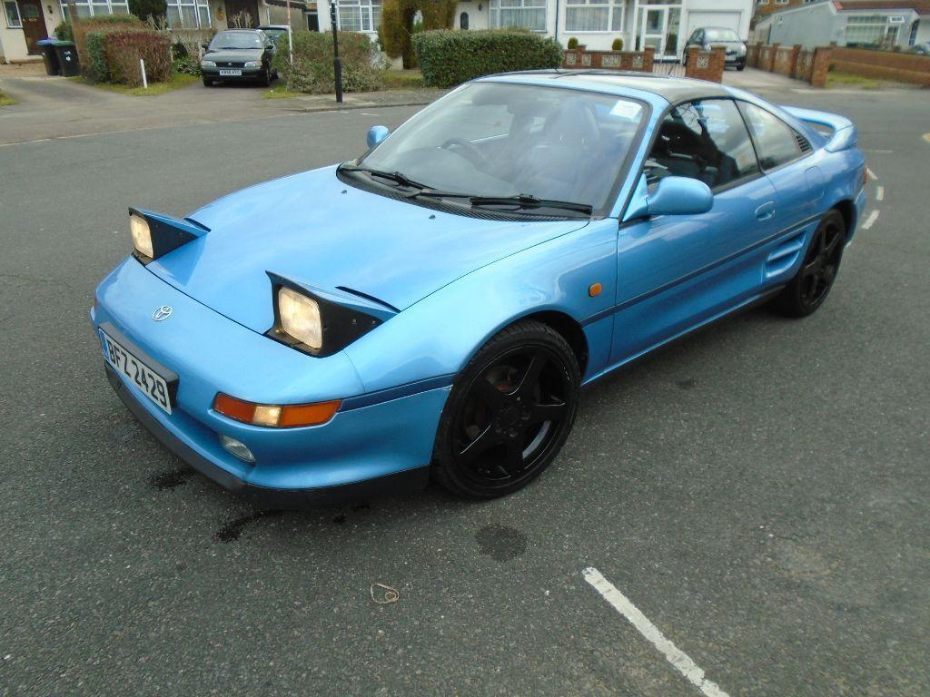 1993 toyota mr2 2 0 gt t bar laser blue
