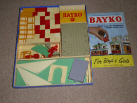 Bayko builiding sets