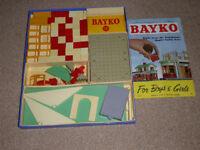 Bayko builiding sets