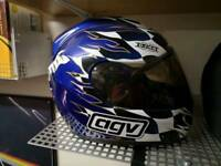 AGV Scottish Lion Rampant motorcycle helmet