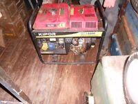 Kipor KDE 2200 E diesel generator. collection from Sheffield