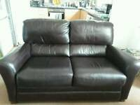 Leather chairs x2 excellent condition