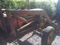 International tractor front loader