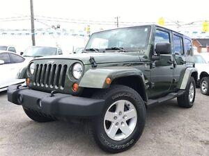 2007 Jeep Wrangler Unlimited Sahara / 4 DR// LOADED / 140744 KMS