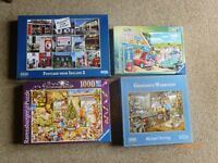 jigsaw puzzles in v.g.c (4) £2.50 EACH