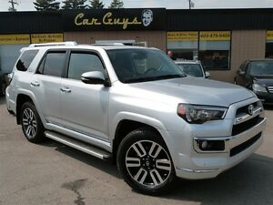 2015 Toyota 4Runner Limited - Navi, BU Cam, 7 Pass.