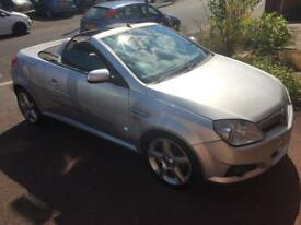 2004 Vauxhall Tigra 1.8 petrol silver convertible heated seats low mileage