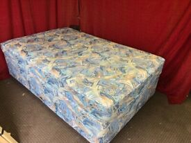 3/4 double divan bed with mattress Can deliver