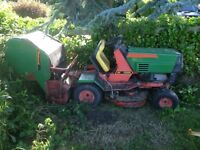 Mowing, machinery repairs odd jobs. Can collect ride on mowers for repair /servicing winkleigh area