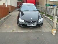Merc coupe for sale