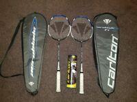 Carlton Aeroblade badminton set