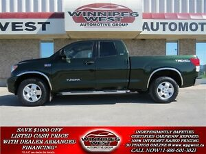 2010 Toyota Tundra SR5 5.7L V8, TRD OFF ROAD 4X4, LOCAL TRADE, L