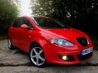 2005 SEAT ALTEA SPORT TDI (140) 2.0 TURBO DIESEL MPV LOW MILEAGE (like FR VW Golf Plus Audi A3)