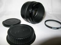"""CANON Lens Ef 50MM MK1 LENS RARE """"OFFERS"""" + UV FILTER AND CAPS CAN DELIVER"""