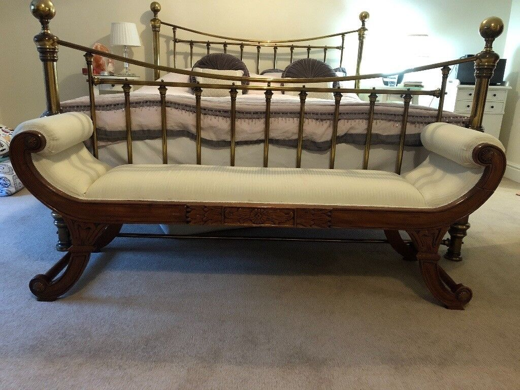 Sleigh Style Vintage Chaise