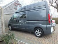 Renault Trafic long wheelbase, auto, low mileage, campervan, fitted out by Devon Conversions