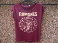Ladies Ramones t-shirt for sale