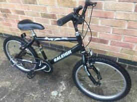 RALEIGH MAX CHILDS MOUNTAIN BIKE