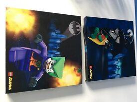 LEGO BATMAN CANVAS X 2
