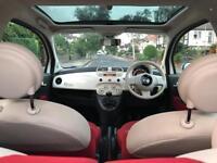 Fiat 500 1.2 Petrol 2013 ( Engine Stop-Start System ) full service history low Mileage & long Mot