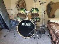 Mapex pro m drum kit with cases