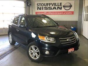 Hyundai Santa Fe limited 3.5 w/navigation 2012