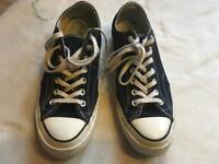 Convers all stars men's trainers size 10 used ex condition £5