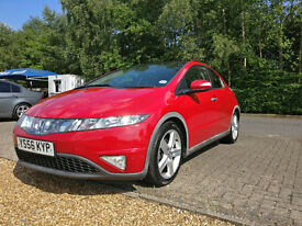"""Great Honda Civic with Part S/H, cruise control, dual climate control, panaromic sunroof, 17"""" alloys"""