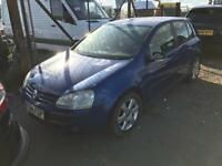 2005 VW GOLF MK5 BREAKING FOR SPARES PARTS LONDON ESSEX