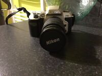 NIKON F60 35mm SLR Camera with 28-80 lens