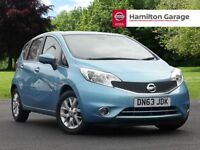 Nissan Note 1.5 dCi Acenta Premium 5dr [Safety Pack] (blue) 2013