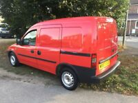 Vauxhall combo turbo diesel, Years Mot LOW MILES