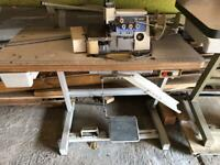 Overlocking sewing machine Brother needs service
