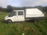 Ford transit tipped