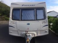 Bailey Pageant Bordeaux series 7 2009 caravan 4 berth