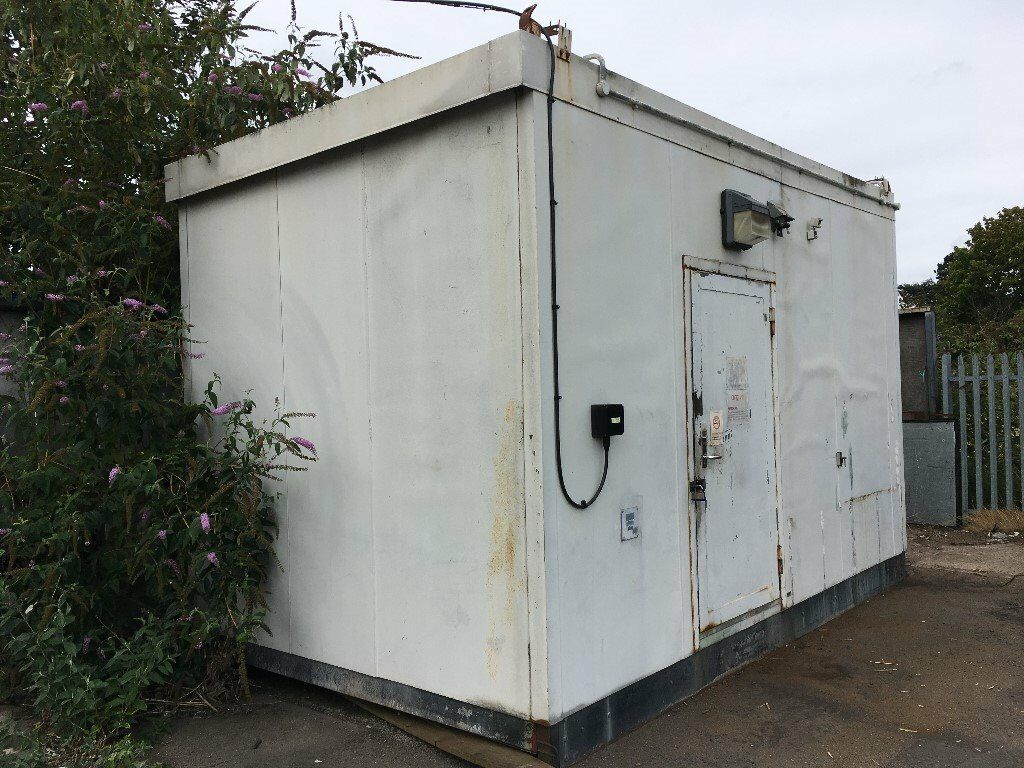 Steel Contruction Portacabin With No Windows. Lockable
