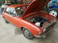 1976 Austin Allegro 1300 super manual low miles in good running order one former keeper