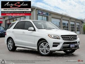 2015 Mercedes-Benz M-Class 4Matic ML350 BLUETEC ONLY 82K! **D...
