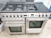 Rangemaster gas cooker 110cm free delivery ..07867030779
