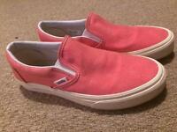 Vans - Coral Pink (Size UK 5.5)