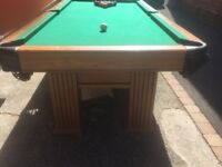 8ftx4ft pool table