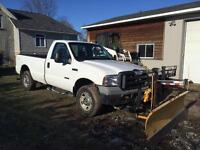 2006 Ford F-250 with myers plow